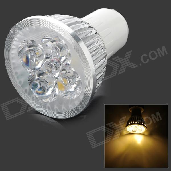 ZHISHUNJIA DB-10CG401 GU10 280lm 3500K 4 x SMD 6063 LED quente Spotlight White Light - (AC 85 ~ 265V)