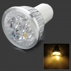 ZHISHUNJIA DB-10CG401 GU10 280lm 3500K 4 x SMD 6063 LED Warm White Light Spotlight - (AC 85~265V)