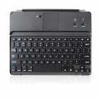B.O.W Rechargeable Bluetooth V3.0 78-Key Keyboard w/ Backlit for IPAD 2 / 3 / 4 - Silver + Black
