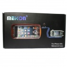 Meikon Profesional Estuche impermeable para IPHONE 5 / 5C / 5S - Orange + Transparente