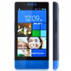 "H3039 Dual Core Android 2.3 WCDMA Bar Phone w/ 4.0"" / Dual Camera / Wi-Fi - Black + Blue"