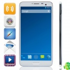 "P8 MTK6592 Octa-Core Android 4.3.1 WCDMA Bar Phone w/ 5.7"" IPS FHD, Wi-Fi, OTG, GPS - White"