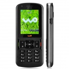 "ZTE F116c WCDMA / GSM Bar Phone w/ 2.0"" TFT Screen / FM Radio / Bluetooth / Camera - Black + Silver"