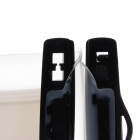 "WP-03 Universal Waterproof Bag Case w/ Strap / Armband for 7"" Cellphone - Black + Transparent White"