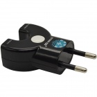 STAR GO ACP-12E Dual USB AC Power Adapter Charger - Black (EU Plug / 110~240V)