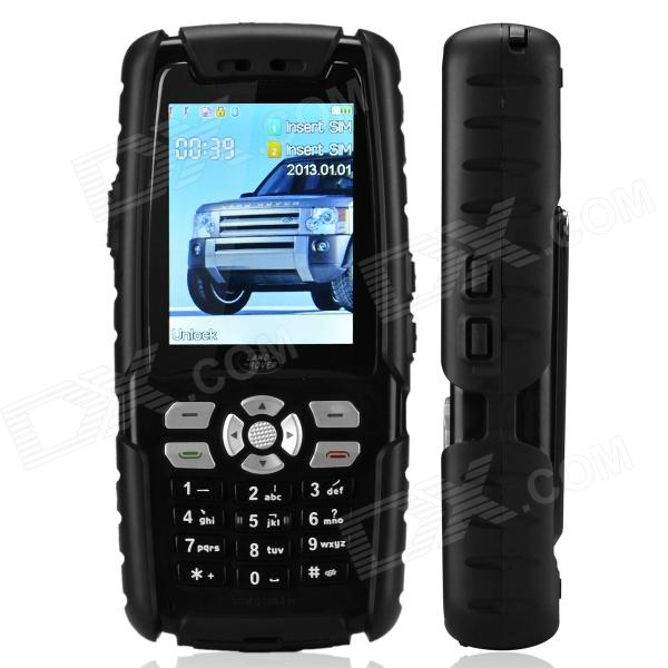 "Land Rover L8 Fashionable GSM Bar Phone w/ 2.4"" / Camera / Television / Bluetooth - Black"