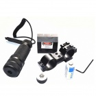 Aluminum Alloy 630nm Red Laser Scope w/ Gun Mount - Black (1 x CR123A)