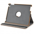 KWEN SPW-1 Bark Grain Style Protective PU Leather Case for IPAD 2 / 3 / 4 - Brown