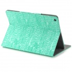 ZMW KWEN-01 lettres Style PU protection Etui cuir IPAD AIR - Green