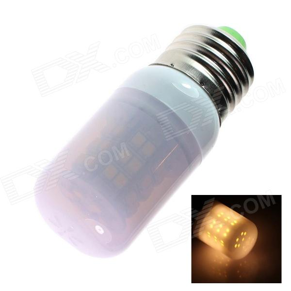E27 4W 110lm 2500K 48 x SMD 3528 LED Warm White Light Lamp Bulb - White (220~240V)