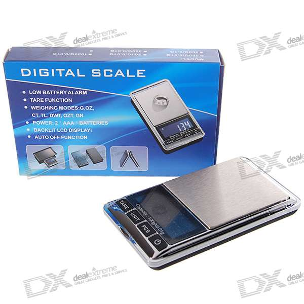Mini Precision Digital Pocket Scale (100g Max / 0.01g Resolution)