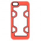 Protective Plastic Bumper Case for IPHONE 5 / 5S - Red + Black
