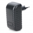 Universal USB 5V 2A EU Plug Power Adapter for IPHONE / IPAD / IPOD / Samsung / HTC + More - Black