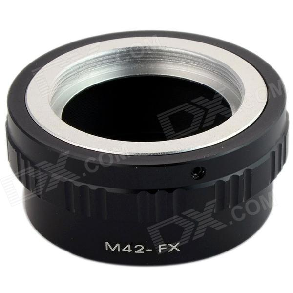 M42-FX M42 Lens to Fujifilm X-Pro1 Mount Adapter - Black fujifilm x t2 body black