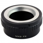M42-FX M42 Lens to Fujifilm X-Pro1 Mount Adapter - Black