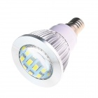 E14 6W 180lm 5500K 16 x SMD 5730 LED White Energy Saving Light Bulb - White (AC 220~240V)
