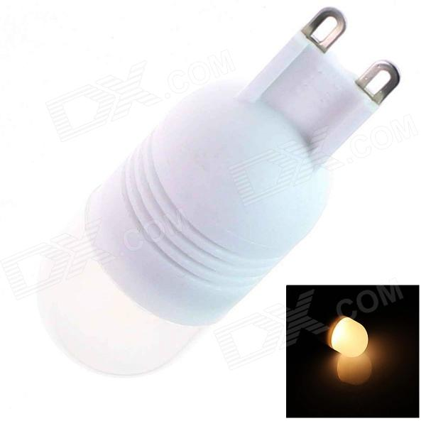 G9 8W 180lm 2500K 8 x SMD 5050 LED Warm White Light Lamp Bulb - White (AC 220~240V)