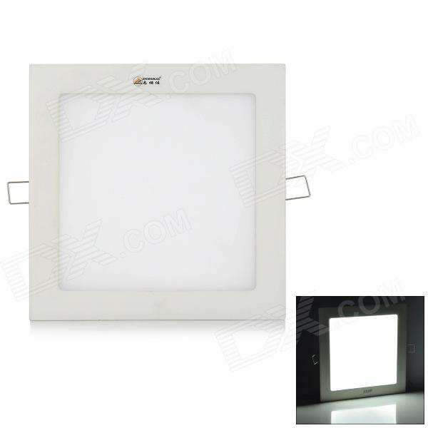 ZHISHUNJIA 18W 1300lm 6000K 90-SMD 2538 LED White Ceiling Light - White (85~265V)