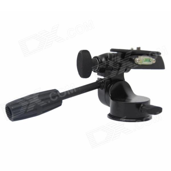 DEBO 003H Three-dimensional head for Camera Tripod - Black