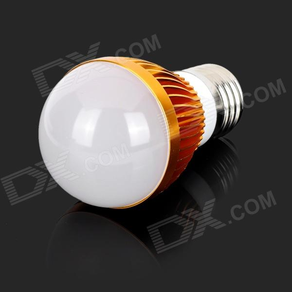 UltraFire LZ-08 E27 3W 3-LED Bulb Case - Golden (AC 85~265V)