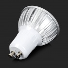 GU10 6W 210LM 6500K White Light LED Spotlight - White Silver (85~265V)