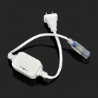 NITEFIRE US Plugs Power Driver for 3528 LED Light Strip - White