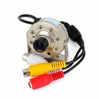 1/3 CMOS 3.0MP Mini Surveillance Camera w/ 7-IR LED / PAL - Golden Yellow