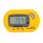 "Multifunction 1.6"" Screen Digital Thermometer - Light Yellow (1 x LR44)"