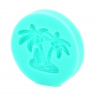 Coconut Tree Style Silicone Polymer Clay Handmade Soap / Pudding / Chocolate Mold - Green
