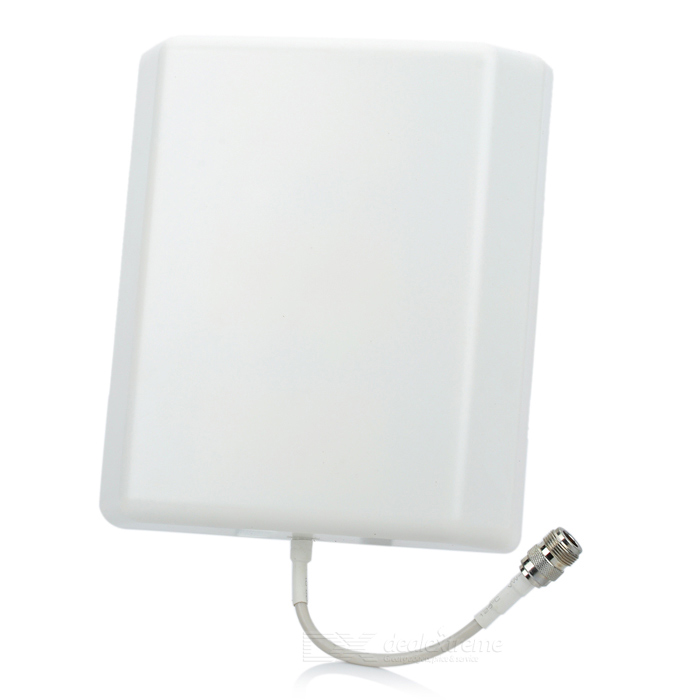 2.4GHz 800~2500MHz 8~10dBi High Gain Antenna for CDMI/GSM/3G/GPRS/GPS/PHS Network (N Female)