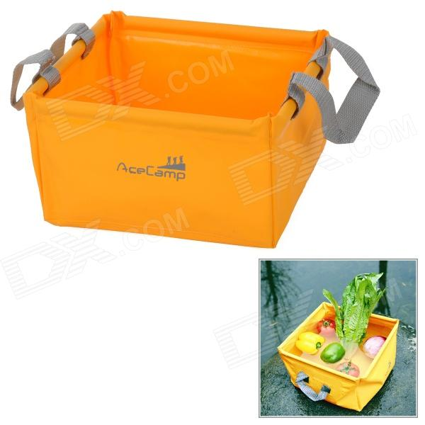 AceCamp 1700 laminert PVC Folding bassenget - Orange + grå (5 L)