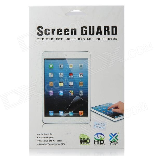 PET Matte Screen Protector for IPAD MINI / RETINA IPAD MINI - Transparent (2PCS)