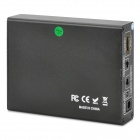 HDMI til RCA / S-Video HD AV Converter - Svart (US Plugger)