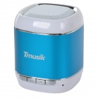 Tmusik A9 Portable Bluetooth v2.1 Speaker w/ Microphone / TF for IPHONE / IPOD - Deep Blue