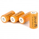 UITRAFIRE 18350 3.7V 1200mAh Rechargeable Li-ion Batteries - Orange + Black + Multicolored (4 PCS)