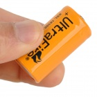 UltraFire 18350 3.7V 1200mAh Rechargeable Li-ion Batteries - Orange + Black + Multicolored (4 PCS)