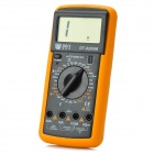 "DT9205M Handheld 2.8"" LCD 3.5-Digit Multimeter - Black + Orange (1 x 6F22)"