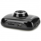 "D10 2.0"" LCD 720p 1.3MP 4X digital zoom DVR filmadora - preto"