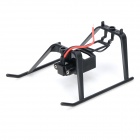 WLtoys DIY ABS Model Helicopter Undercarriage for V911-2 - Black