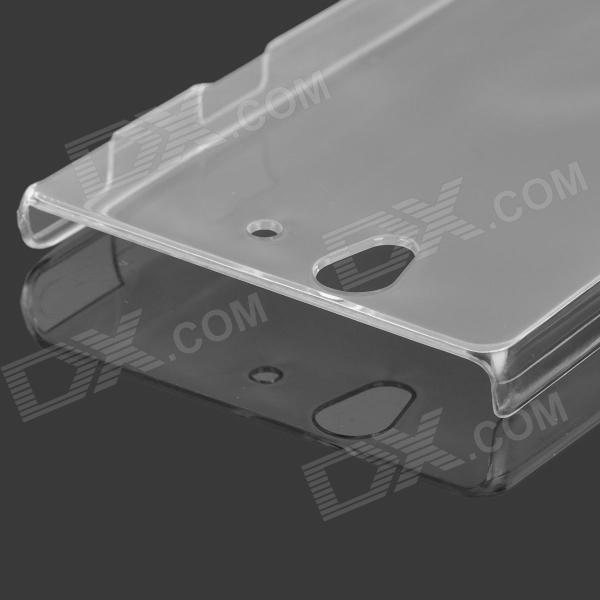 все цены на Protective PC Back Case for Sony Xperia Z/L36h - Transaprent онлайн