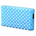 Multi-functional Portable WiFi ''5000mAh'' Power Bank Router - Sky Blue + White + Multi-Colored