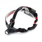 E-Smart Stretch Zooming Cree XP-E Q5 200lm 3-Mode Cold White Light Headlamp - Black(1 x 18650)