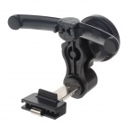 Fashionable 360 Degree Rotation GPS / Mobile Phone Holder Bracket - Black