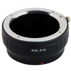 PK-FX Pentax PK Lens to Fujifilm X-Pro1 Mount Adapter - Black