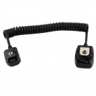 TTL Off Camera Hot Shoe Flash Sync Cable Cord Trigger for Canon OC-E3 - Black (60cm)
