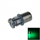 1141 / BA15S / 1156 / G18 2W 120lm 8 x SMD 5050 LED Green Car Signal Light / Steering Lamp - (12V)