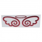 Creative Angel wings Pattern Car Decoration Sticker - Red