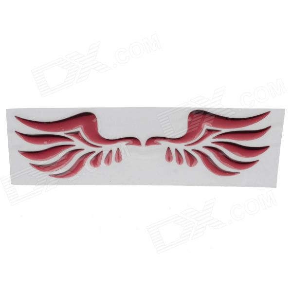 Creative Phoenix Pattern Car Decoration Sticker - Red