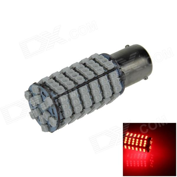 1156 / BA15S 6W 600lm 120 x SMD 3528 LED Red Car Steering Light / Tail / Backup Lamp - (12V) motorola pulse 2 wired black