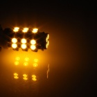 T10 / 192 / W5W 1.5W 130lm 28-SMD 3528 LED Yellow Car Side Light / Instrument / Reading lamp - (12V)